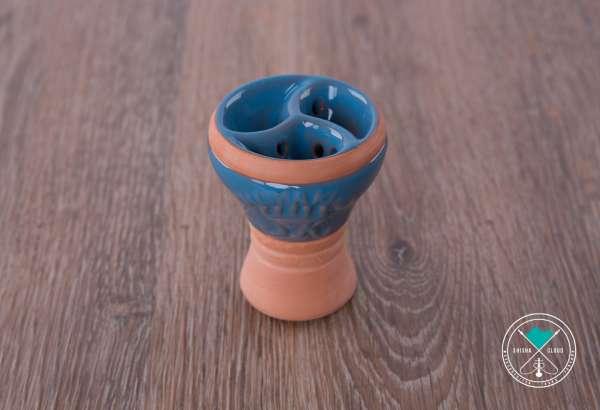 SK | 3-Kammer Tonkopf lasiert blau