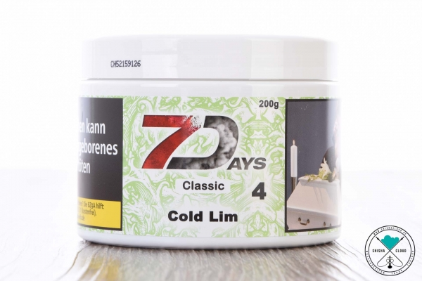 7Days | Classic | Cold Lim | 200g
