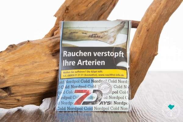 7Days | Platin | Cold Nordpol | 20g Shot