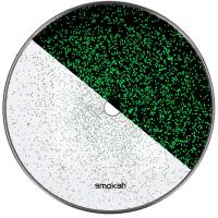 Smokah | Kohleteller | Glas | Glow | Grün