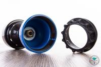 AO | Gaskocher | mit Kohlegitter | Blau