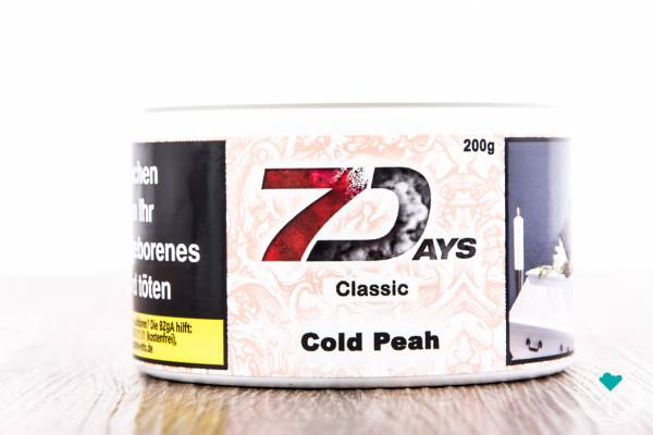 7Days | Classic | Cold Peah | 200g