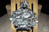 Shisha Cloud | Hoody | Gr. XL | Camouflage Grau