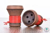 Japona   Smoke Bowl   Rot   in Aufbewahrungsbox