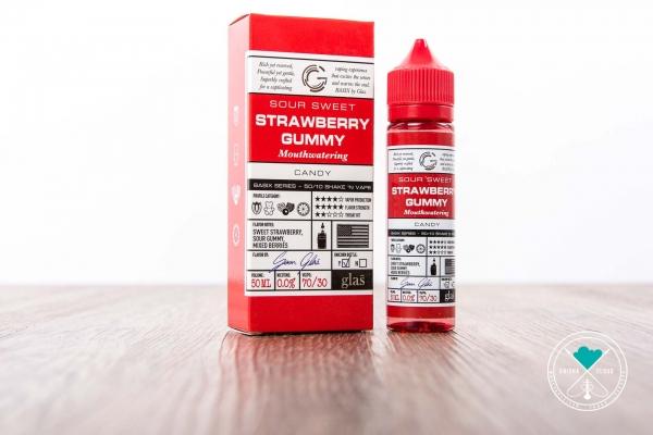 Glas Basix Liquid | Strawberry Gummy (DIY)