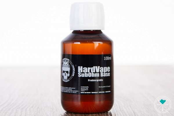 HARDVAPE | SUBOHM Base | 0mg/ml | 100ml