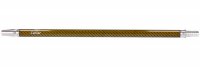 Caesar | Carbonoptik Dark Gold | Mundstück | 40 cm