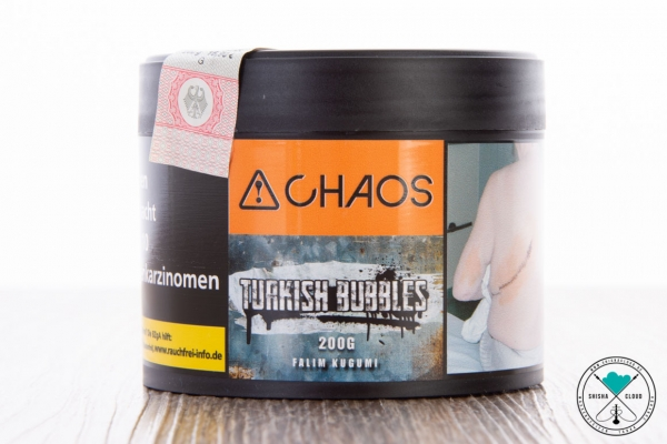 Chaos | Turkish Bubbles | 200g