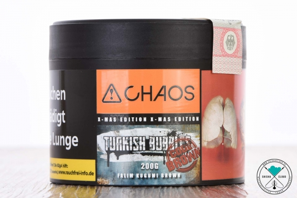 Chaos   Turkish Bubbles   Code Brown   200g