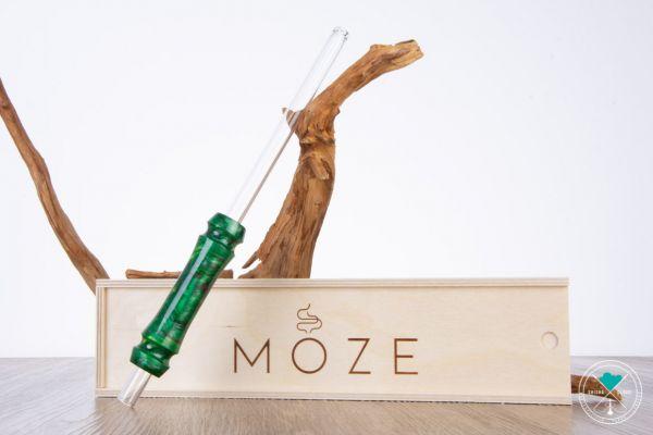 Moze | Breeze | Grün | Glasmundstück