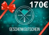 Geschenkgutschein 170€