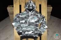 Shisha Cloud | Hoody | Gr. L | Camouflage Grau