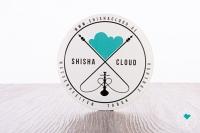 Shisha Cloud | Aufkleber | 25 Stk.