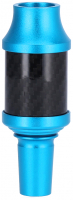 AO   Carbon   Molassefänger   Aluminium   Hellblau   18/8