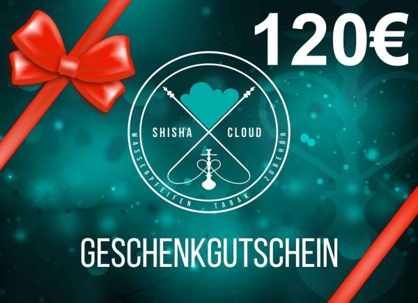 Geschenkgutschein 120€