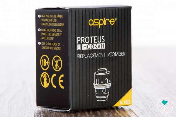 Aspire | Coil BVC | 0,16 Ω | Proteus 1.1
