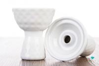 Kaolin | Geometric | Porzellankopf | weiß