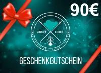 Geschenkgutschein 90€