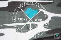 Shisha Cloud   Hoody   Gr. M   Camouflage Grau