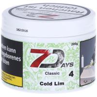 7Days   Classic   Cold Lim   200g