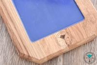 Shisha Cloud | Kopfbau-Brett | Mini | Blau