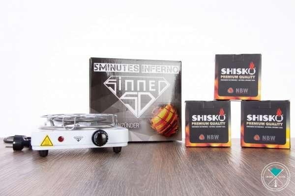 Sinned 5 Minutes Inferno + 3KG Shisko