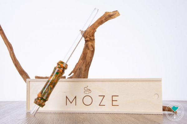 Moze | Breeze | Orange | Glasmundstück
