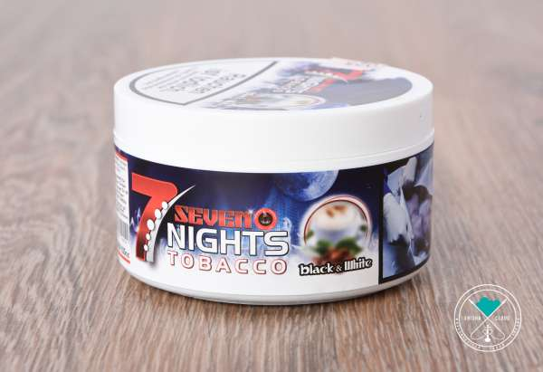 7 Nights Tobacco | Black & White | 200g