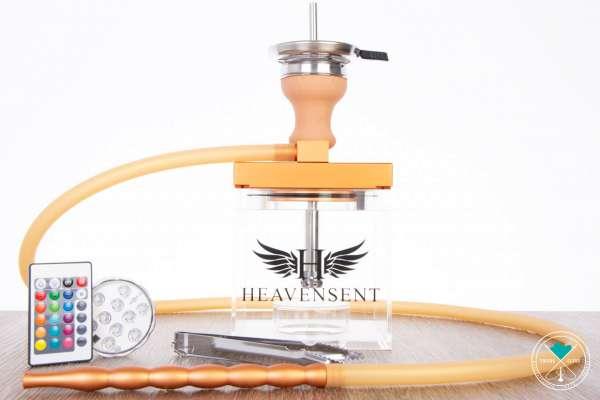 Heavensent | Cube | Acrylshisha | Gold