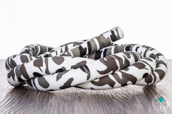 Diamond | Camouflage Grau | Matt | Silikonschlauch