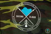 Shisha Cloud | Hoody | Gr. XXL | Camouflage Grün