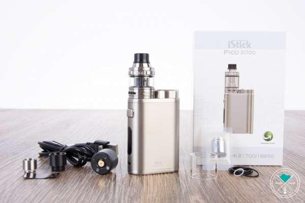 Eleaf | iStick Pico 21700 | Ello 4ml | Kit | Brushed Silver