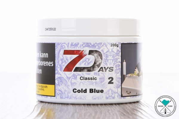 7Days | Classic | Cold Blue | 200g