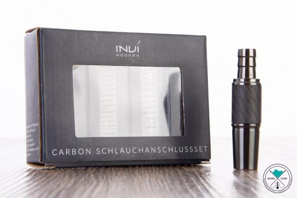 INVI | Schlauchadapter-Set | Edelstahl | Carbon | Gun Metal | 18/8
