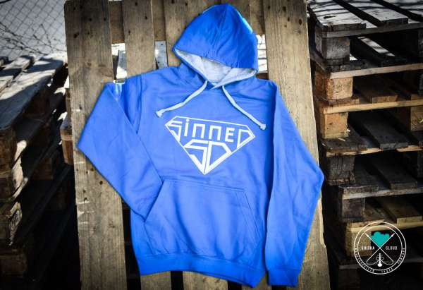 Sinned | Hoody | Blau