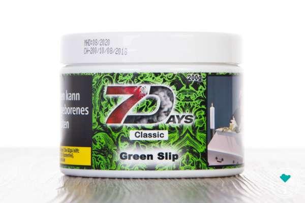 7Days | Classic | Green Slip | 200g