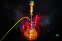 Shisha Cloud   Laser V1   Holzuntersetzer   5 Dioden