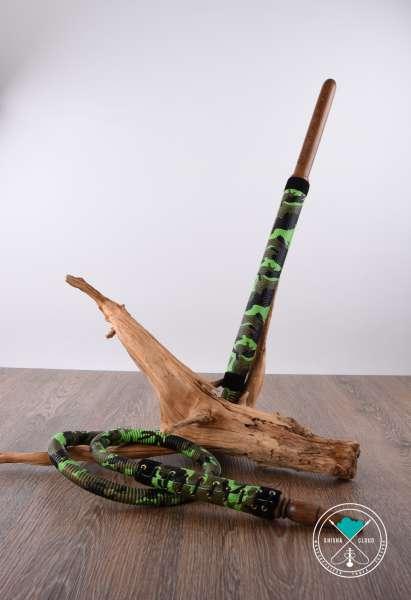 Karaduman   Tradischlauch   Leder   Camou grün/grün