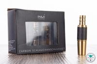 INVI   Schlauchadapter-Set   Edelstahl   Carbon   Gold   18/8