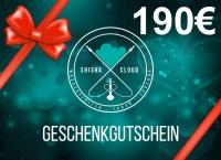 Geschenkgutschein 190€