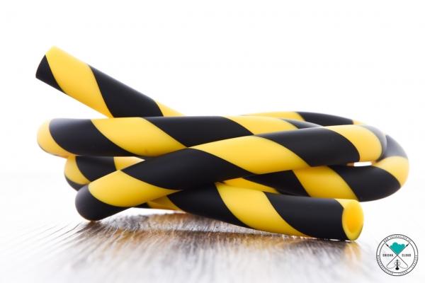 Heavensent | Striped | Gelb/Schwarz | Silikonschlauch