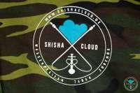 Shisha Cloud   Hoody   Gr. L   Camouflage Grün