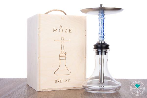 MOZE | Breeze | Premium | Silber-Blau / Clear