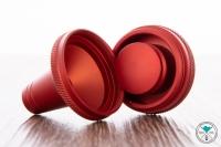 Tribus Molassefänger Aluminium Rot offen