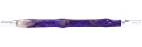 TRIBUS   Mundstück   Funky Purple #2   Silber   Alu   Resinharz