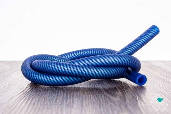 Diamond | Carbon Blau Türkis | Matt | Silikonschlauch