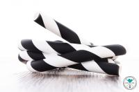 Heavensent   Striped   Weiß/Schwarz   Silikonschlauch