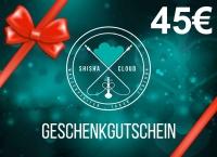 Geschenkgutschein 45€
