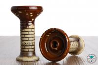 Smokah | Phunnel | Wall | Glazed Tonkopf | Braun