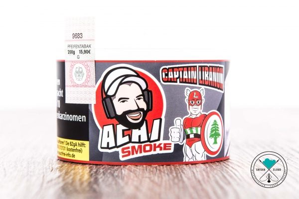 Achi Smoke | Captain Libanon | 200g